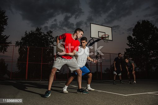 istock Playing good defense 1133685520