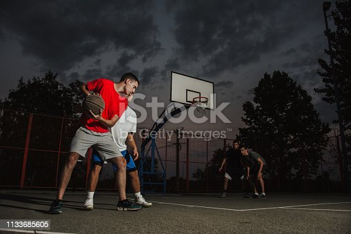 istock Playing good defense 1133685605
