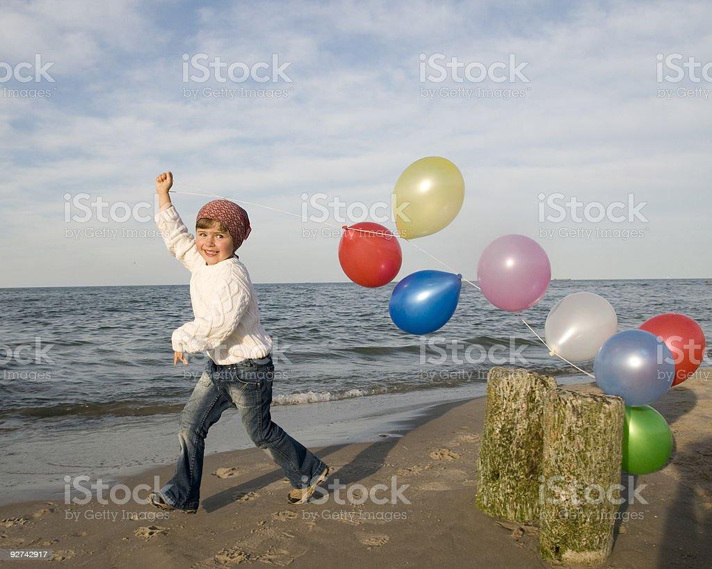 Spiele am Strand Lizenzfreies stock-foto