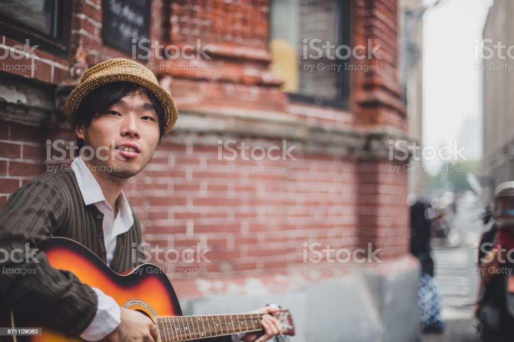 Playing outdoors stock photo