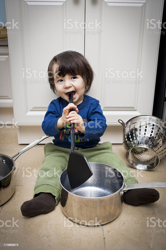 Playing royalty-free stock photo