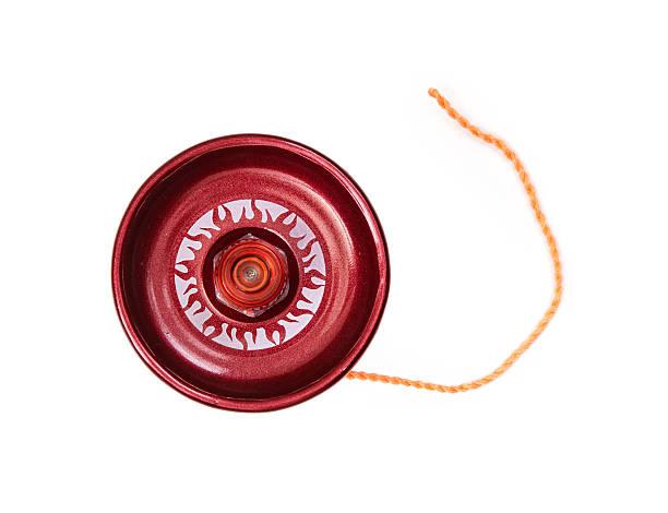 게임하기 레드 yo-yo 스톡 사진