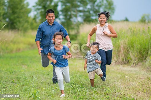 589135214 istock photo Playing Tag Outside 636655668