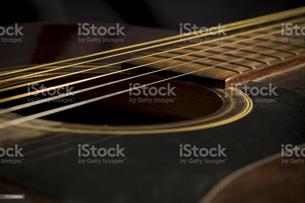 Playing the blues royalty-free stock photo