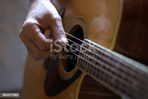 istock playing the guitar 954970362