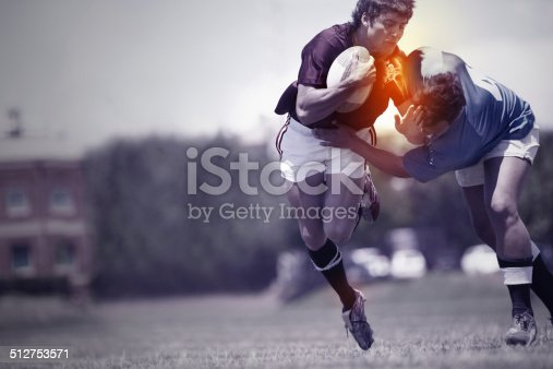 istock Playing through the pain 512753571