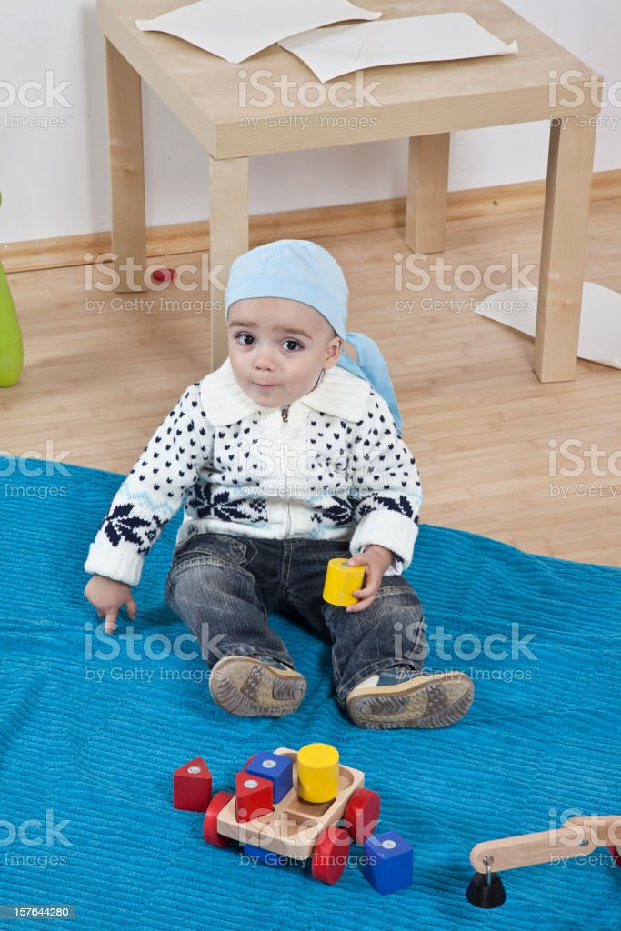 Playing time royalty-free stock photo