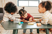 istock Playing toddlers 811091490