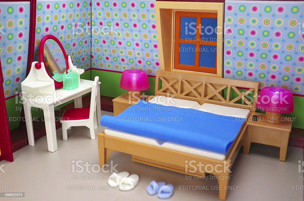 . Playmobil Bedroom Stock Photo   Download Image Now   iStock
