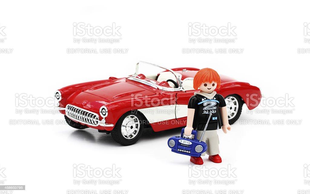 Playmobil teen figurine royalty-free stock photo