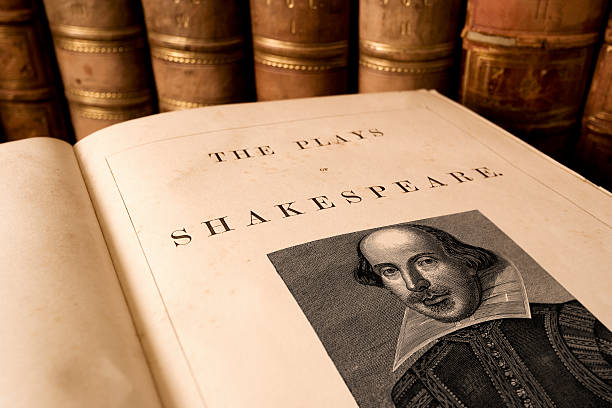 plays of shakespeare - literature stock pictures, royalty-free photos & images