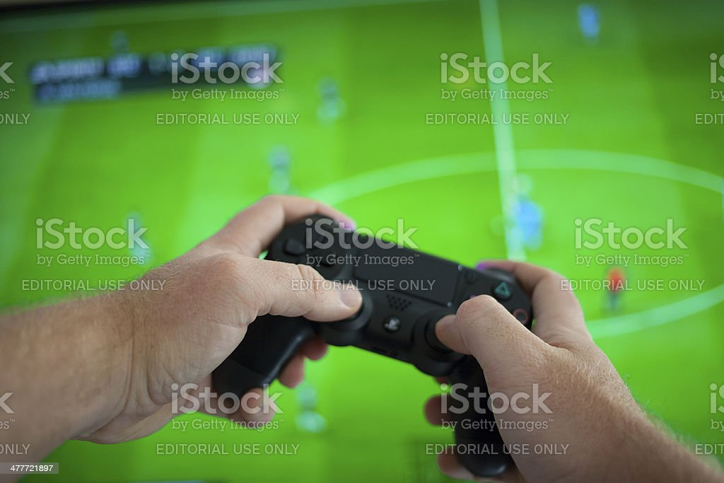 Playstation 4 stock photo
