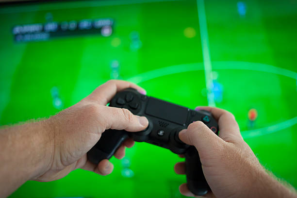 playstation 4 - playstation stockfoto's en -beelden