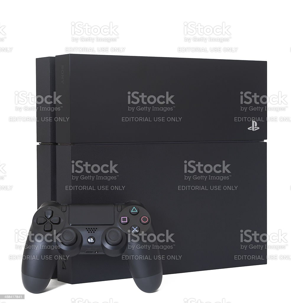 PlayStation 4 PS4 stock photo