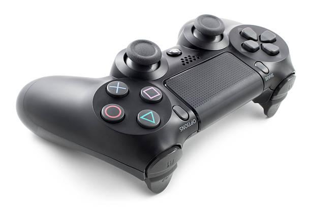playstation controller - playstation stockfoto's en -beelden