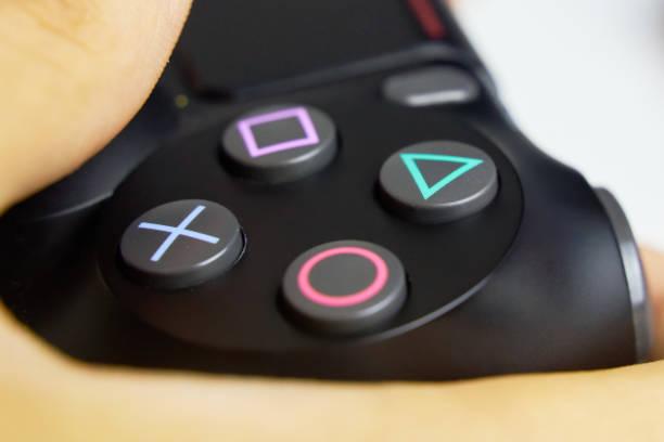playstation shock - playstation stockfoto's en -beelden