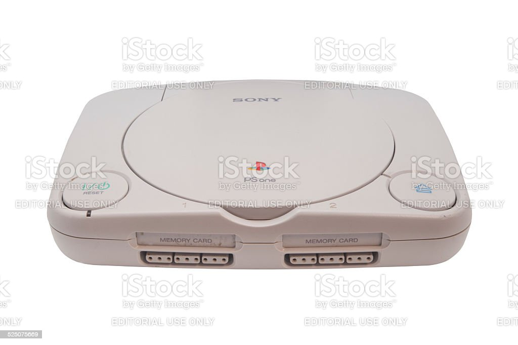 Playstation One stock photo