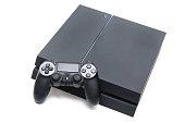 PlayStation4 白を背景にした
