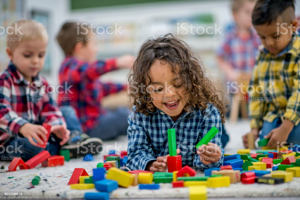 Playtime For Kids stock photo