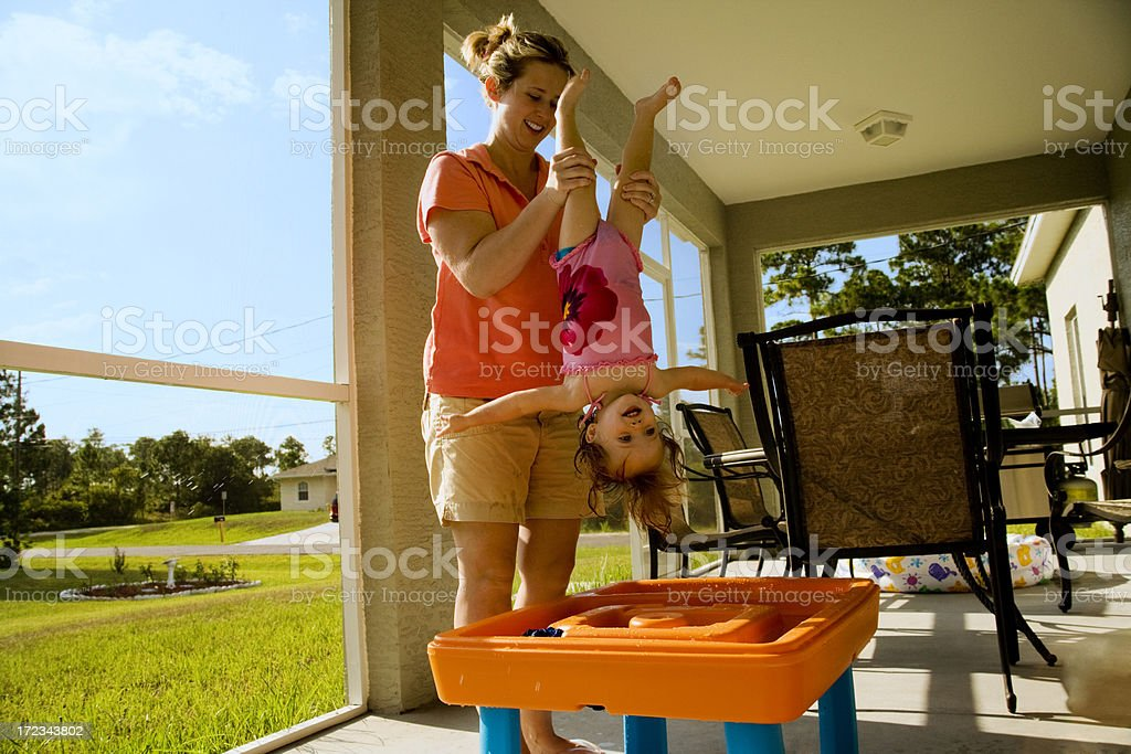 Playtime with Mommy royalty-free stock photo