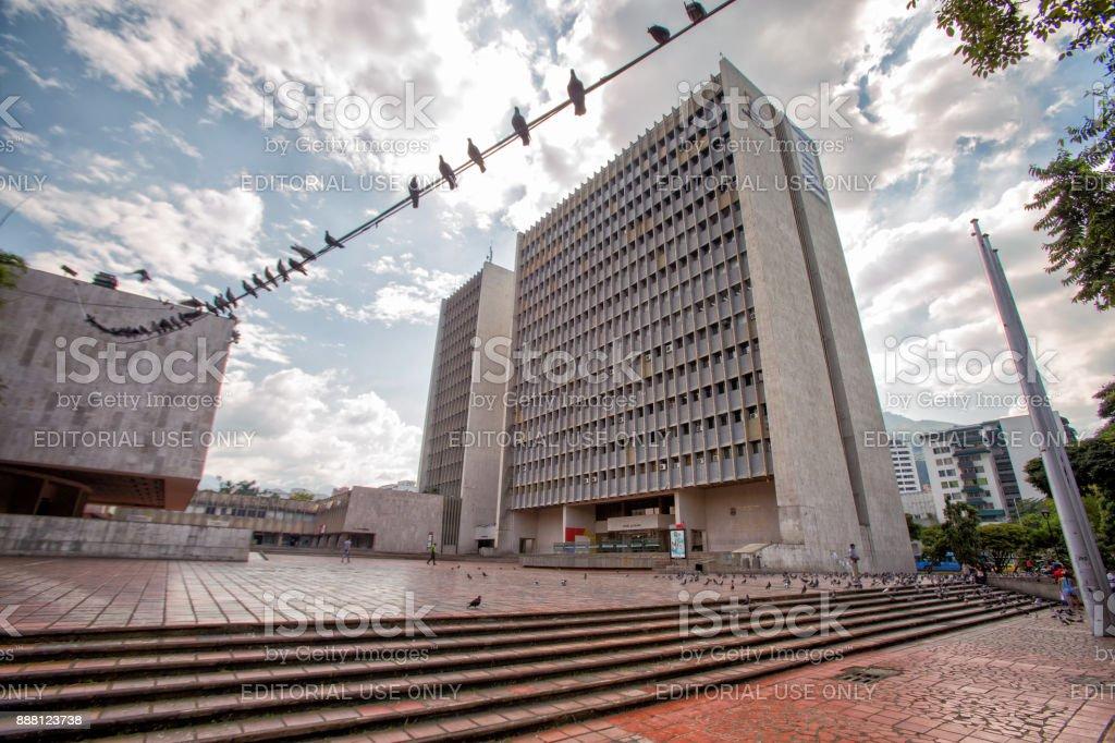 Plaza de alcadia stock photo