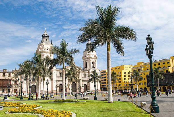 Plaza de Armas stock photo