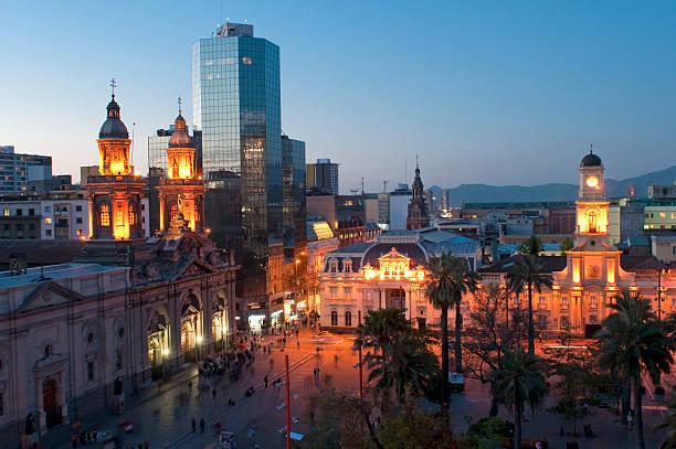 Plaza De Armas, Santiago, Chile – Foto