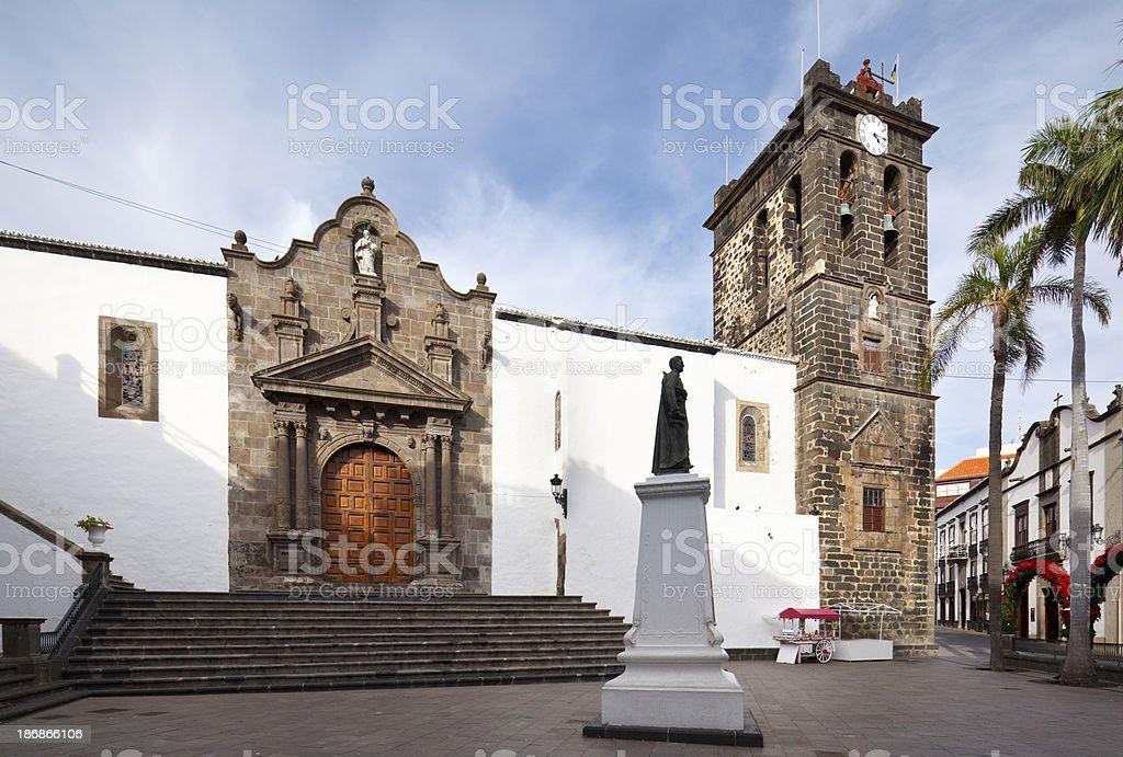 Plaza De España In Santa Cruz, La Palma – Foto