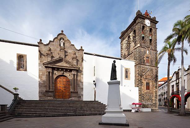 Plaza De España In Santa Cruz, La Palma stock photo