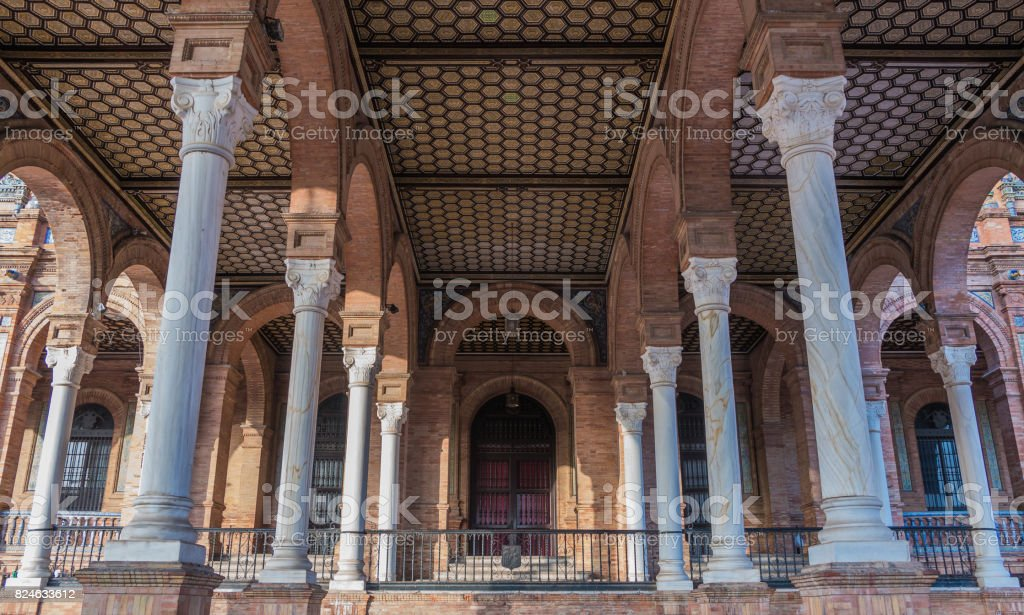 Plaza de España II stock photo
