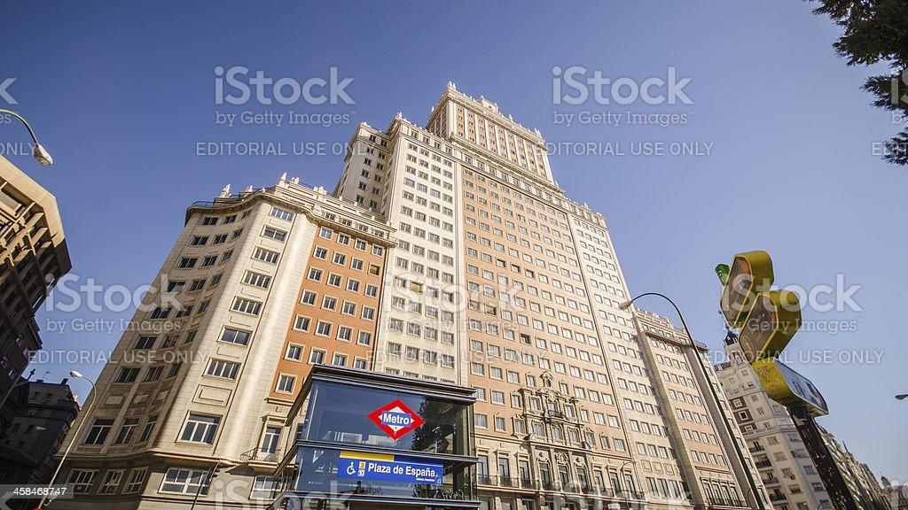 Plaza de España. royalty-free stock photo