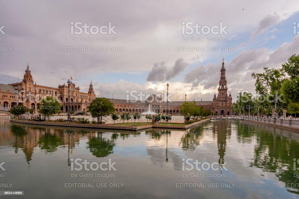 Plaza de Espana - Royaltyfri 2018 Bildbanksbilder