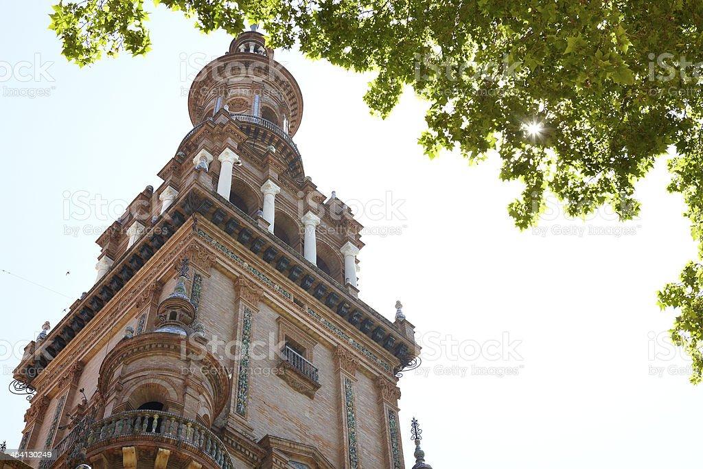 Plaza de España, Seville stock photo