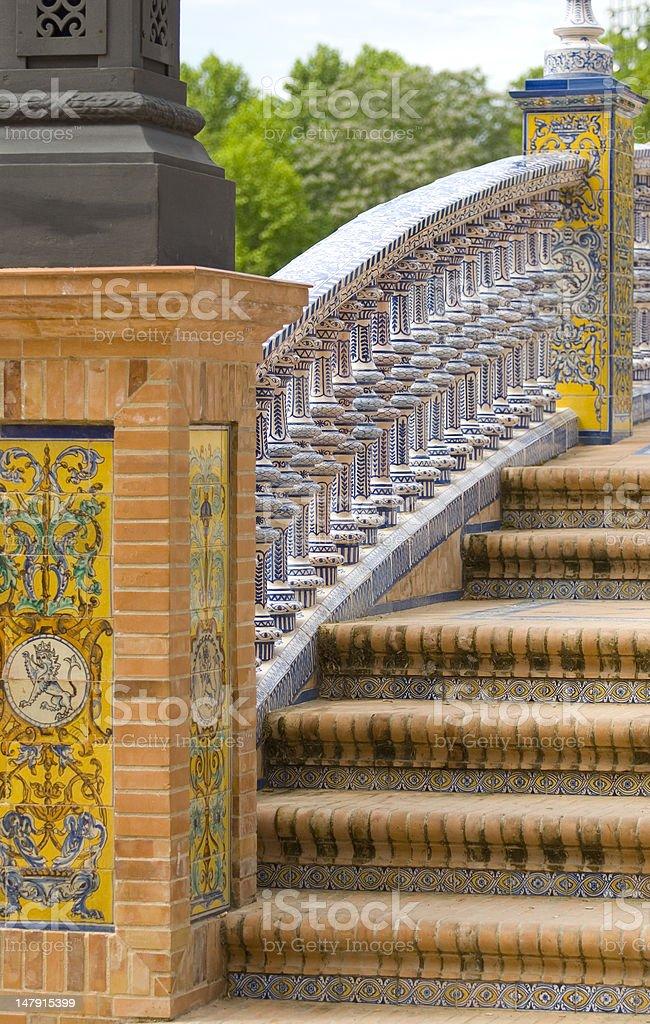 Plaza de Espagna royalty-free stock photo