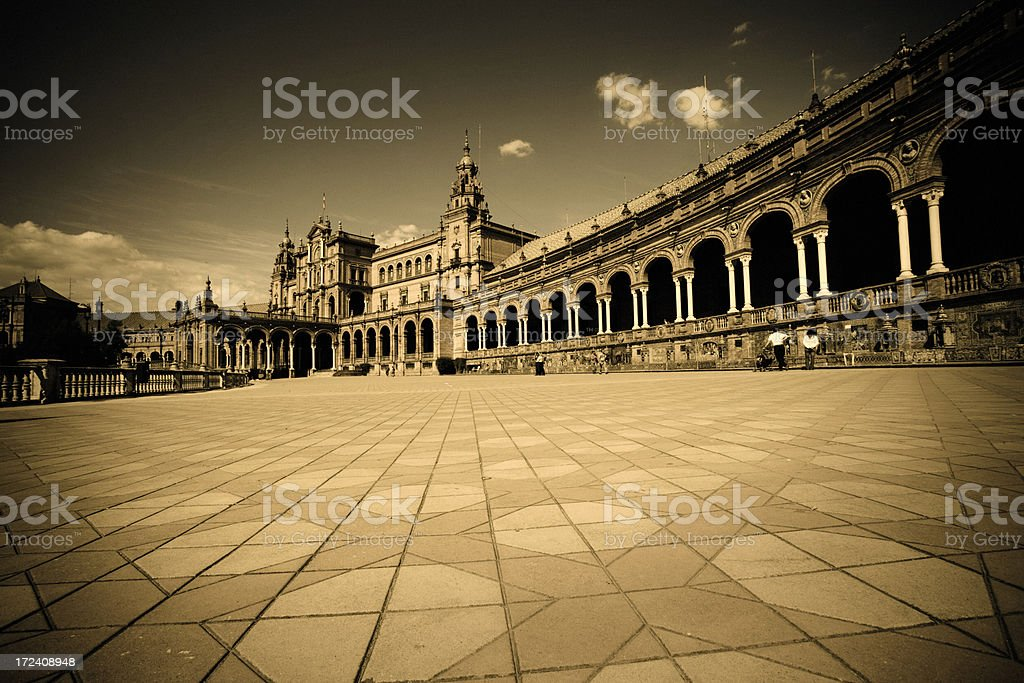 Plaza de Espana royalty-free stock photo
