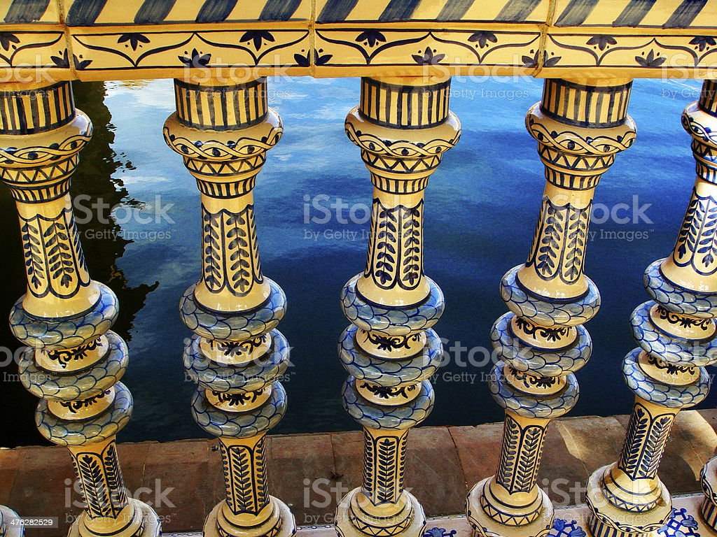 Plaza de Espana, Seville. royalty-free stock photo