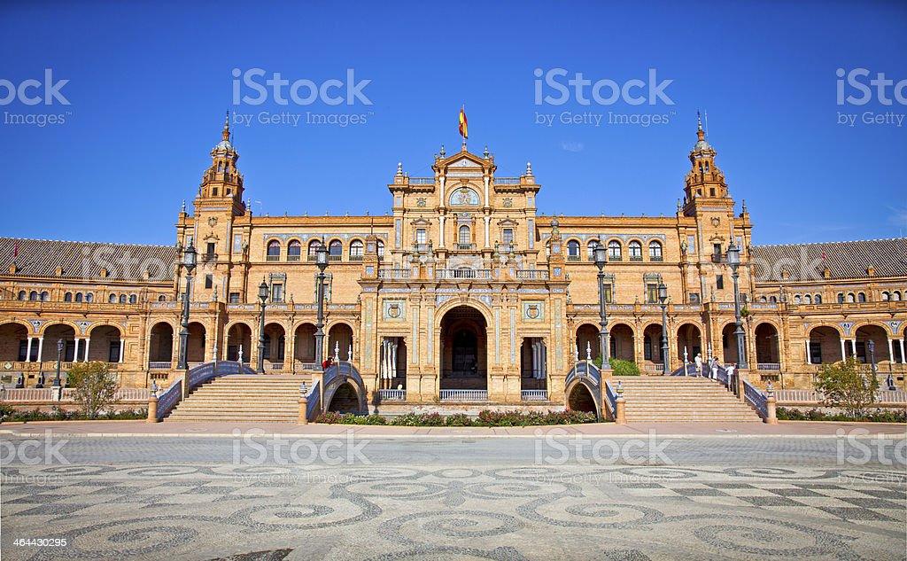Plaza de Espana, Seville, Spain. royalty-free stock photo