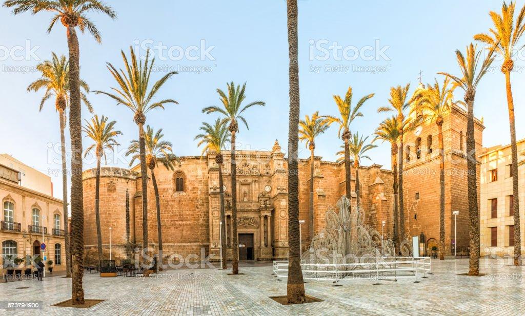 Plaza de la Catedral in Almeria – Foto