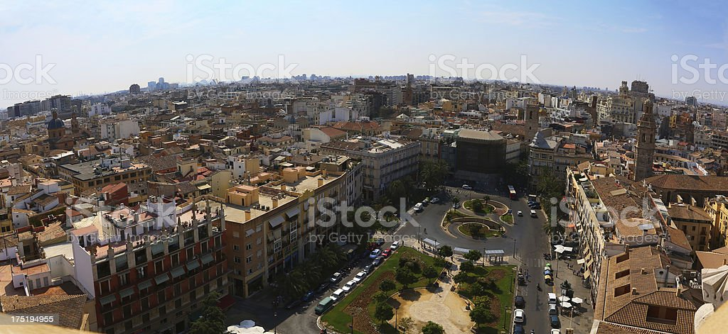 Plaza de la Reina, Valencia stock photo