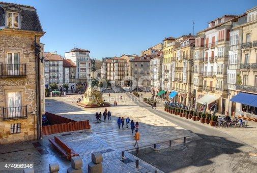 istock Plaza de la Virgen Blanca 474956946