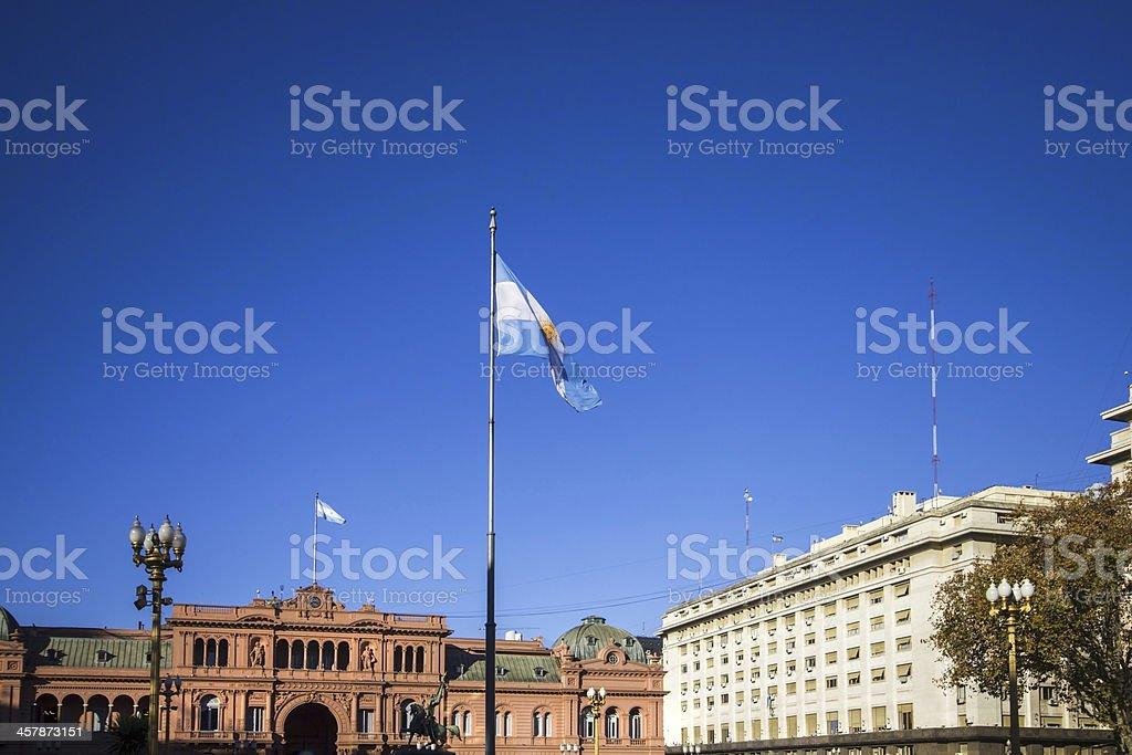 Plaza de Mayo stock photo