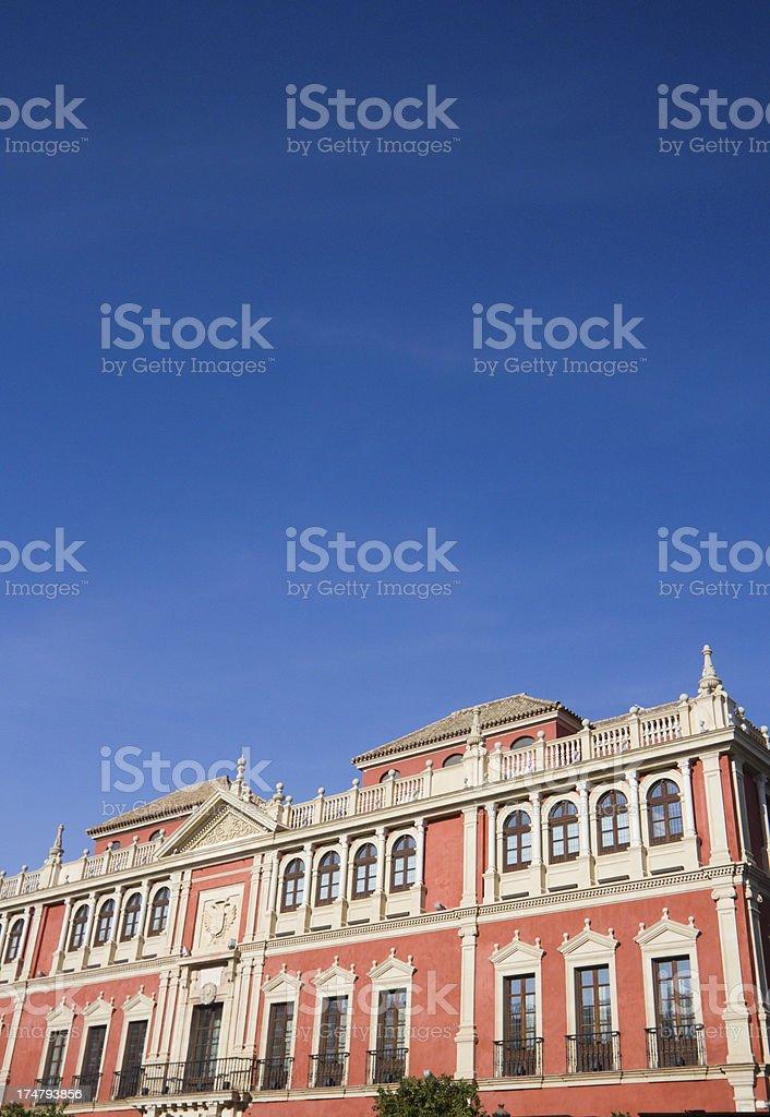 Plaza de San Francisco in Seville, Spain royalty-free stock photo