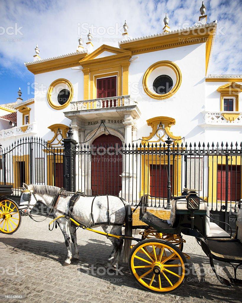 Plaza de Toros La Maestranza royalty-free stock photo