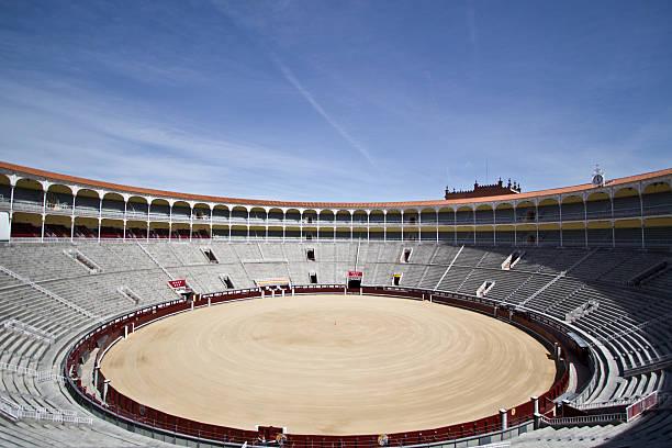 Plaza de Toros stock photo