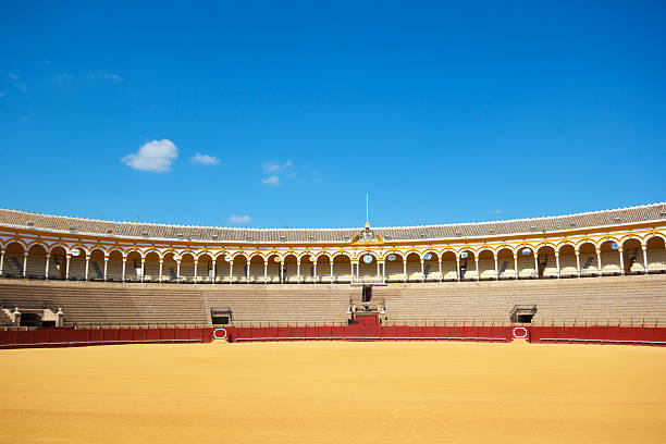 Plaza de Toros, Seville, Spain stock photo