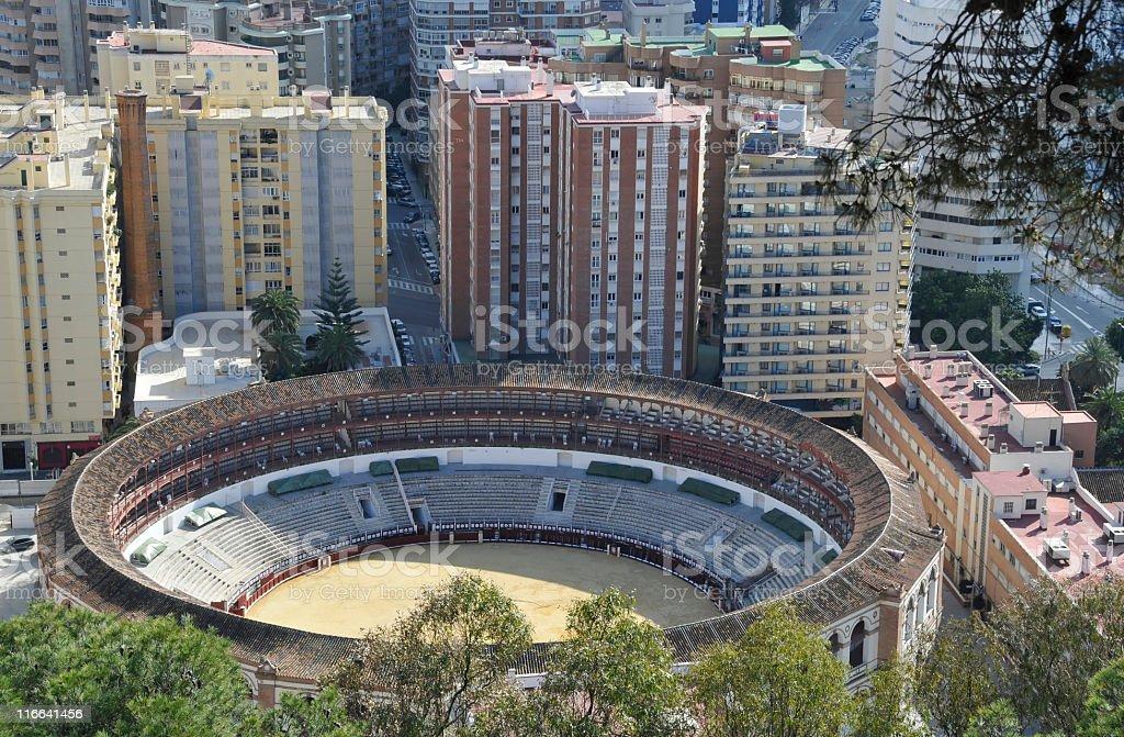 Plaza de Toros,Málaga,Spain royalty-free stock photo
