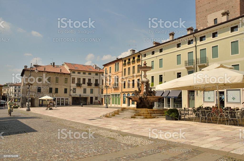 Piazza Garibaldi - foto stock