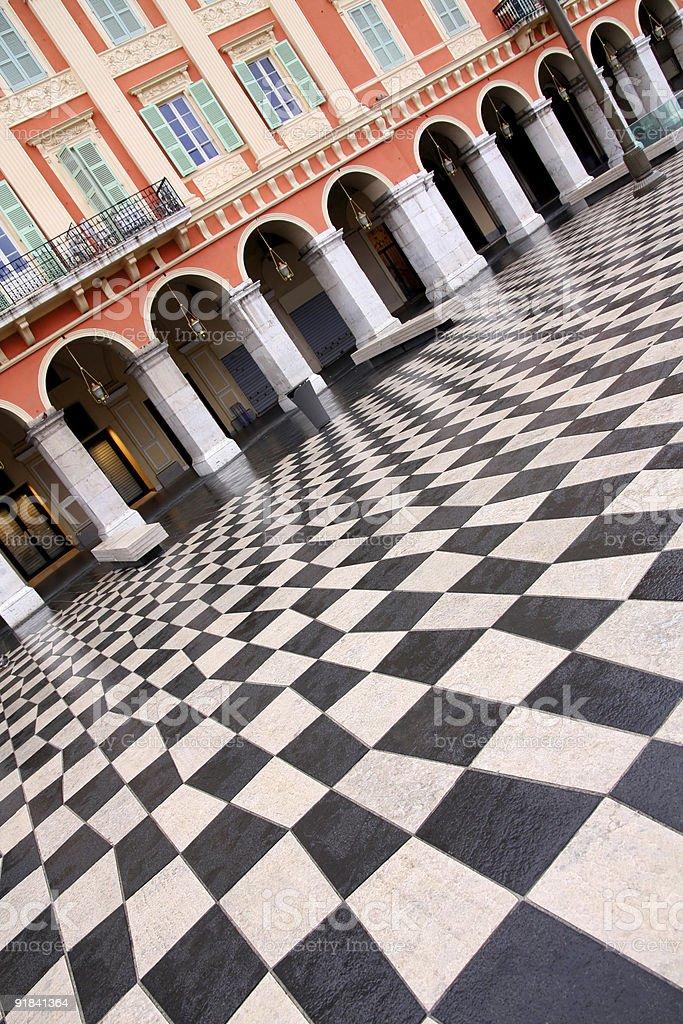 plaza Massena royalty-free stock photo