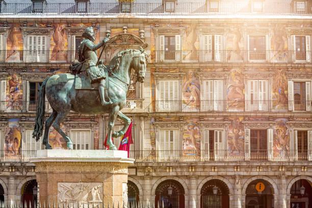 Plaza Mayor in Madrid – Foto