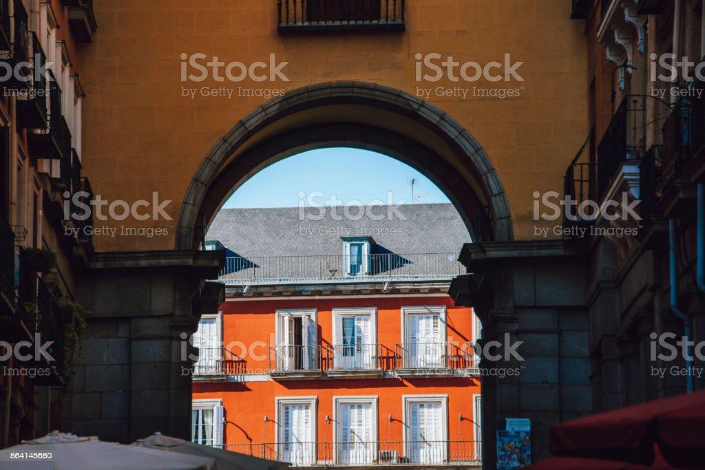 Plaza Mayor, Madrid royalty-free stock photo